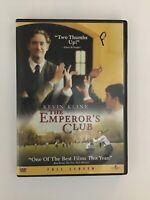 The Emperors Club (DVD, 2003, Full Frame)