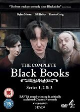 BLACK BOOKS 1-3 (200-2004): COMPLETE COMEDY THREE TV SEASONS SERIES - NEW DVD UK