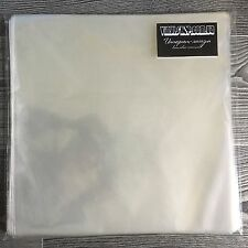 "Outer vinyl record plastic sleeves cover 12"" LP (100 pieces) polypropylene"