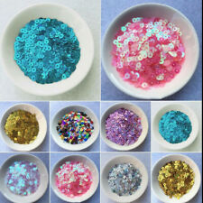 2000pcs 4mm Round Loose Sequins Paillettes Sewing Wedding Craft Clothes DIY