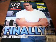 WWE Magazine March 2003 The Rock