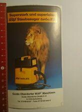 Aufkleber/Sticker: Superstark u Superleise Wap Staubsauger turbo xl (28091670)
