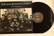 "Yale Russian Chorus -  Conductor Gregory Burnside 1986 -Masterdisk   LP 12"" (VG)"