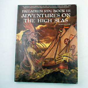 Palladium RPG Book 3: Adventures on the High Seas by Kevin Siembieda (1990)