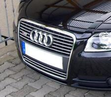 Audi A4 B7 8EC 8ED Saloon Estate - CHROME Kit Front Grille Covers 3M Trim Tuning