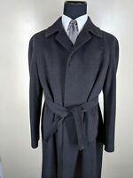 CANALI Vintage  Vicuna 100% Wool Raglan Sleeve Coat US Size 40 R--Fit 42-44 Reg