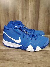 Men's Nike Kyrie 4 TB Basketball Shoes Size 17 Game Royal Blue White AV2296 400