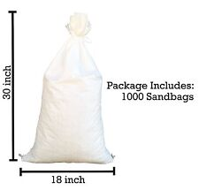 "Sandbaggy 1000 18""x30"" Empty Sandbags For Sale Sandbag Bags Sand Bags Poly Bags"