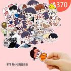 KPOP Cartoon Bangtan Boys BTS J-Hope RM Jung Kook Decal Stickers Scrapbook Set