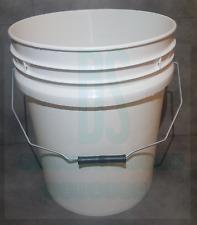 20L HEAVY DUTY CAR WASH BUCKET PLASTIC FISHING TUB CONTAINER HYDROPONICS NO LID