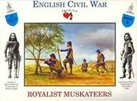 3A Call To Arms English Civil War War Royalist Musketeers Soldier 1:32