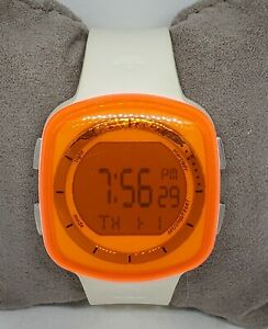 Unisex Adidas Tokyo Orange White Digital Watch ADH6045 D1
