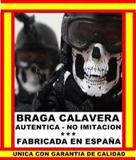 BRAGA BANDANA CRANEO CALAVERA CARA CUELLO BOCA MOTO BICICLETA RUNNING SKI SNOW Q