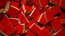 True Red Glossy Broken Plate Mosaic Tiles