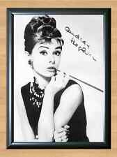 Audrey Hepburn Actress Film Fashion Icon Signed Autographed A4 Print Photo TV