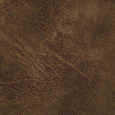 DISTRESSED LEATHER EMERSON BARK UPHOLSTERY FABRIC MOUNTAIN LODGE RUSTIC TAPESTRY