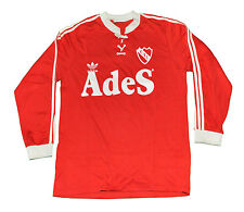 Argentina Independiente RETRO jersey shirt Adidas home LONG Sleeves T4