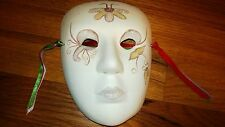"""Venetian Small Mask - Collectibles, Ceramic Wall Hanging Detailed 4 3/4"""" x 6 1/8"""