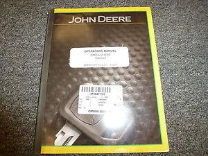 John Deere 8440 & 8640 4WD Tractor Owner Operator Manual User Guide OMRW15912