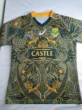 New listing South Africa Nelson Mandela's 100th Anniversary Rugby SHIRT JERSEY Springbok 7's