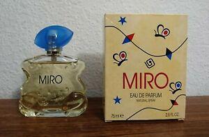 MIRO Femme Eau De Parfum 75 ml Spray in OVP * ALTE VERSION - RARITÄT *