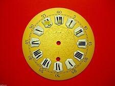 Cadran pendule neuchateloise Zenith horloge Zifferblatt Uhr Clock 15cm dial P4