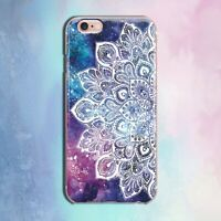Mandala iPhone 11 XR Cover Marbled iPhone XS Max Case Boho iPhone X 7 8 Plus 6s