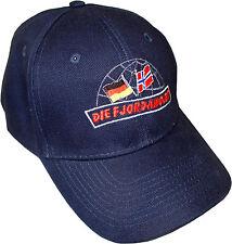 Basecap Mütze Norwegen Angler navy blau