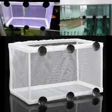 Large Size Aquarium Fish Tank Guppy Breeding Baby Fry Net Trap Box Hatchery Us