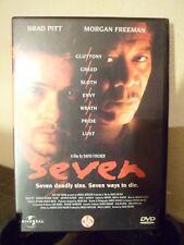 DVD - SEVEN - Brad Pitt - Morgan Freeman - 2000 - Français / Anglais
