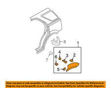 KIA OEM 03-06 Sorento Wheel Well-Fender Flare Arch Molding Left 877803E000XX