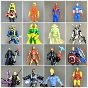 Up 20+ 3.75'' DC Comics Marvel Avengers Age Of Ultron Falcon Hawkeye Batman Toy