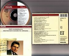 W.GERMANY PDO FS- FRITZ WUNDERLICH- Beethoven, Haydn, Richard Strauss: Lieder CD
