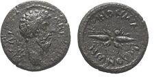 Ancient Rome 161-180 AD MACEDON KOINON MARCUS AURELIUS WINGED THUNDERBOLT #2