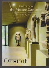 sculpture COLLECTION MUSEE GANTNER CATALOGUE OSENAT vente 19/01/14 art Asie