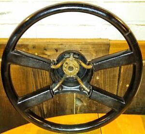 88 89 90 91 92 93 94 GMC Chevy Truck 1500 2500 3500 Black Red Steering Wheel OEM