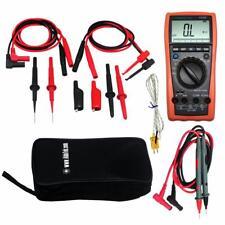 Aidetek VC99 5999 LCD VOLTMETER DIGITAL MULTIMETER needle tipped Test TLP20157