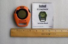 Bushnell BackTrack GPS  Orange Black  #360403 Pre-Owned