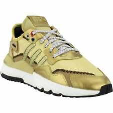 Zapatos De Entrenamiento Adidas Nite Jogger Casual Zapatos de entrenamiento-Dorado-Para Mujer