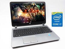 "Cheap Gaming Laptop HP Probook G2 Intel i7 16GB Ram 500GB HDD 15.6"" Windows 10"