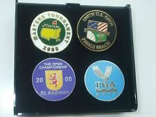 More details for 20 sets of 4 major ball markers every year from 2000 to 2019 free postage