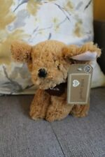 NEW TESCO CUDDLE ME PERFECT PUPS PATCH PUPPY DOG SOFT TOY TEDDY COMFORTER DOUDOU