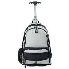 Mochila con trolley para viaje, con asa y ruedas, de poliéster
