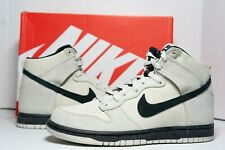 (RARE) Nike Dunk High Shoe Light Bone Black 904233-002 Men's 10