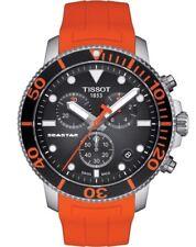NEW TISSOT SEASTAR 1000 QUARTZ CHRONO ORANGE T1204171705101 T120.417.17.051.01