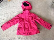 Next girls Recco ski jacket detachable hood age 9-10