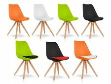 PITU Designerstuhl mit Schalensitz Stuhl Sessel Industrial Style Kunstleder