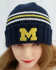Michigan Wolverines ADIDAS Knit Beanie Toque Skull Winter Hat Cap
