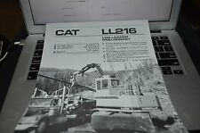 Caterpillar LL216 Log Loader Dealers Brochure BWPA ver12