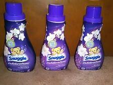 (3) Snuggle Exhilarations Liquid Fabric Softener * Lavender & Vanilla Orchid!